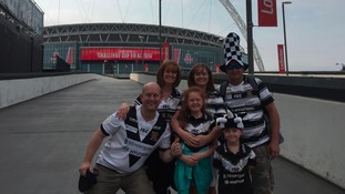 Tens of thousands of Hull FC fans are heading to Wembley