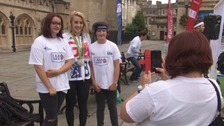 Athletes turn out for 'I am Team GB' event in Bath