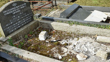 Jewish graves desecrated