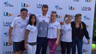 Alistair Brownlee teams up with Emmerdale cast members for IamTeamGB