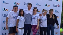 Alistair Brownlee teams up with Emmerdale cast members for IamTeamGB