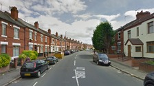 The girl was injured in Swan Lane, Coventry