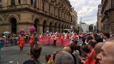 Manchester Pride's holds annual parade in the city
