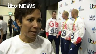 Dame Kelly Holmes at the I AM TEAM GB event.
