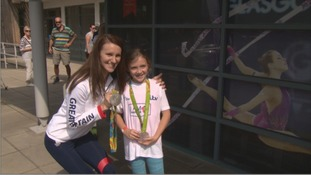Welsh Olympians take part in I Am Team GB