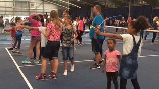 Youngsters try out different sports at I AM TEAM GB