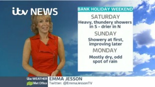 Weather: Bank holiday latest