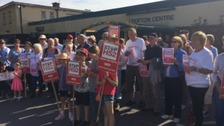 HS2 protest march held in Wakefield village