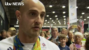 'Getting kids involved in sport is one of the key messages' - Liam Heath at I AM TEAM GB event