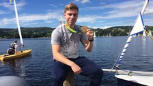 Olympic gold medallist Philip Hindes supports I Am Team GB event on Ullswater