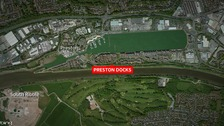Investigation after man's body found in Preston Docks