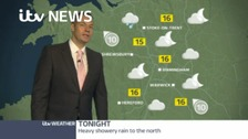 Your evening weather forecast with James Wright.