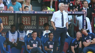 Pardew praises Zaha for substitute performance