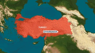 The city of Diyarbakir in Turkey where the attack took place