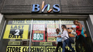 BHS announced its stores will close earlier this year