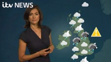 Weather: Sunny spells and scattered showers this Sunday