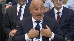 Sir Philip spoke before Parliament's business select committee about the collapse of BHS