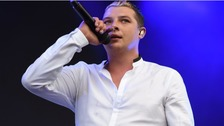 Singer John Newman wants his brain tumour battle to give others 'hope'