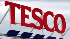 Tesco 'lightning strike' was burst pipe