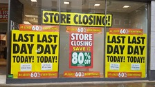 Last Welsh BHS store closes in Swansea