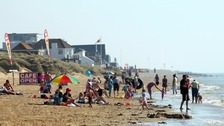 'Missing' swimmer at Camber Sands found safe and well