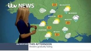 Few showers with sunny spells