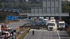 M20 re-opening after bridge collapse delayed over safety