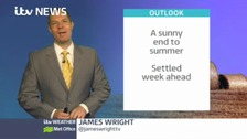Latest weather forecast for the Midlands