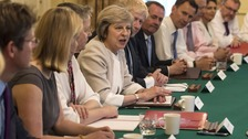 May calls Cabinet ministers to Chequers for Brexit talks