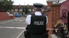 west Belfast stabbing