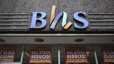 Final BHS stores to close after 88 years on high street