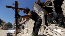 Pope Francis set to visit Italy earthquake regions