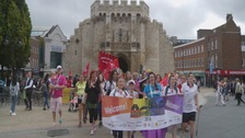 Pride Festival takes place in Southampton