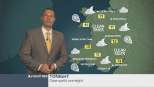 Wales weather: Dry and fine evening!