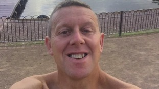 Nick Thomas was 16 hours into his swim when he fell unconscious