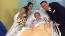Newlyweds ensure nan didn't miss out on their big day