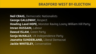 Bradford West By-Election