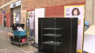 The Wood Green store in London closed on Sunday