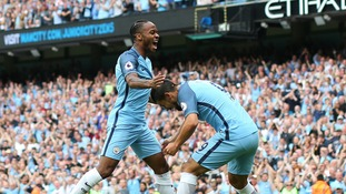 Manchester City 3-1 West Ham: Sterling inspires victory