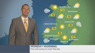Wales weather: A foggy start for most!