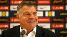 Sam Allardyce names first England squad