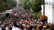 Notting Hill Carnival: Four people stabbed in series of knife attacks