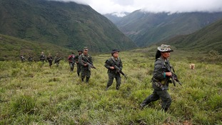 Colombia peace deal: FARC announces cease-fire and downs weapons