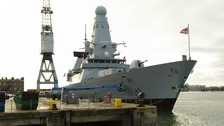 HMS Daring heading to Persian Gulf to help fight IS