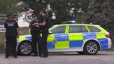 Firearms officers negotiate with armed man,72,
