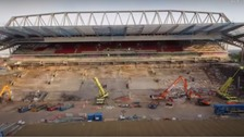 Liverpool fans to preview new Main Stand at Anfield