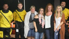 Lifeboat crew rescues hen party from River Dart