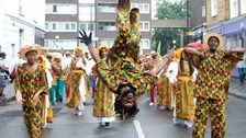 Notting Hill Carnival: Final party despite stabbings on kids' day