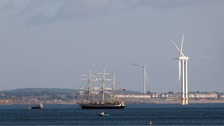 Tall ship The Lord Nelson.