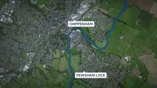 Man dies after lock wall collapses on him in Wiltshire
